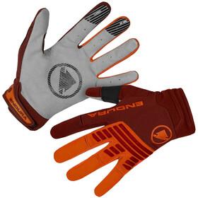 Endura SingleTrack Handschoenen Heren, mandarin